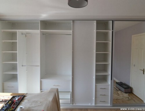 Sliding wardrobes for new house developments.